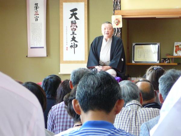 平成27年5月 柳家一九落語会が行われました。