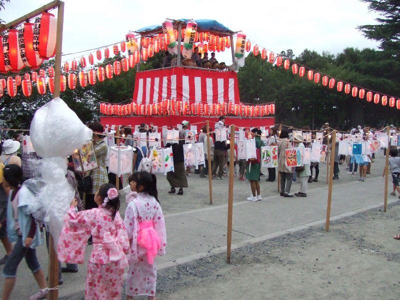 平成24年7月 御田植祭、子どもあんどん祭り、大茶盛会